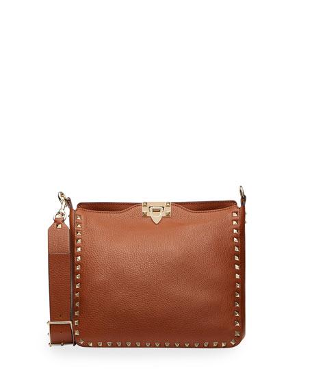Valentino Garavani Rockstud Small Hobo Bag