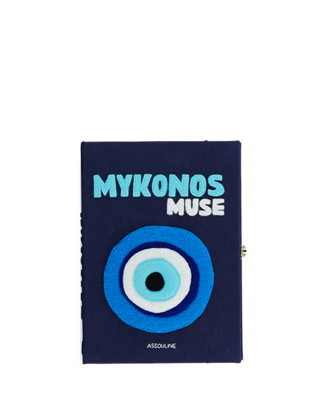 Olympia Le-Tan Mykonos Strapped Book Clutch Bag