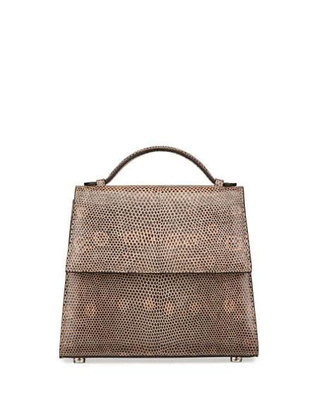 Hunting Season Saffiano Small Top-Handle Bag