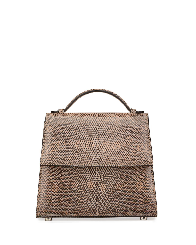 Small Lizard Top-Handle Bag