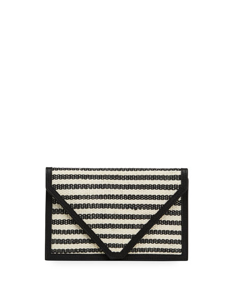 Hunting Season Striped Envelope Clutch Bag