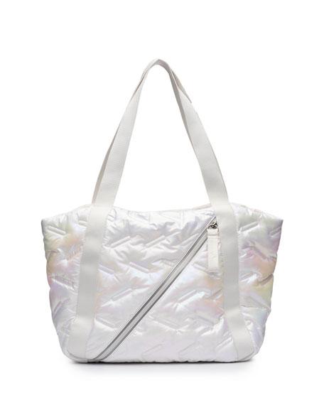 Go Dash Dot Easy Iridescent Tote Bag