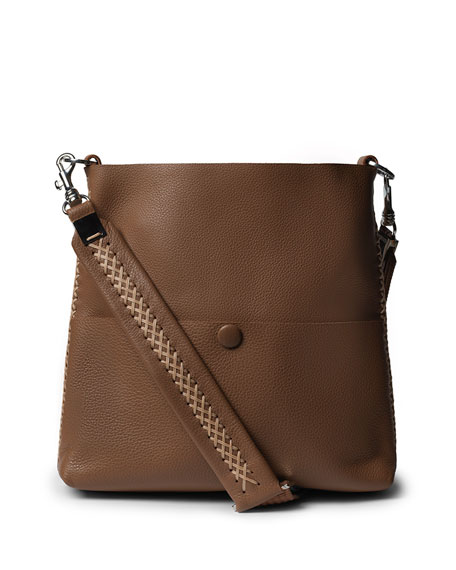 Callista Iconic Slim Messenger Crossbody Bag