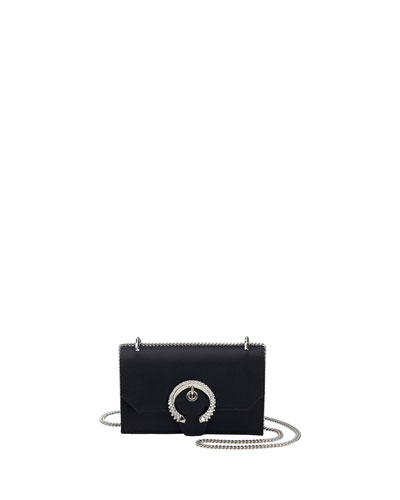 Paris Buckle Chain Clutch Bag