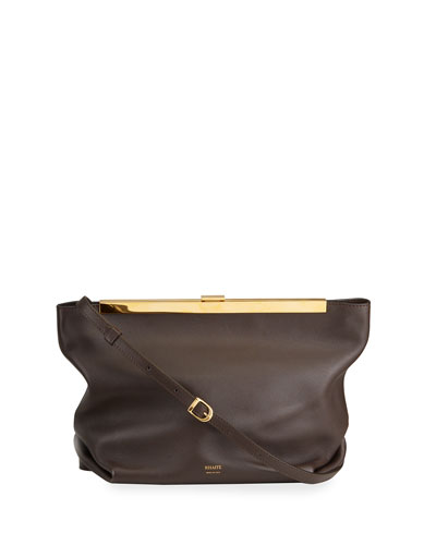 Augusta Envelope Pleated Crossbody Bag