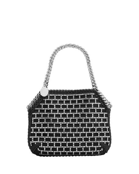 Stella McCartney Mini Crystal Stud Shoulder Bag