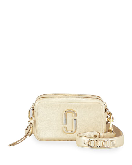 The Marc Jacobs The Softshot 21 Pearlized Crossbody Bag