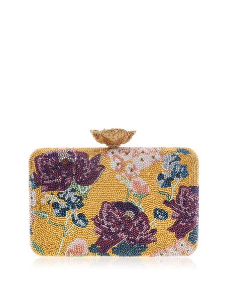 Judith Leiber Couture Seamless Bouquet Clutch Bag