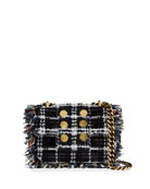 Kooreloo Petite Pillow Tweed Shoulder Bag
