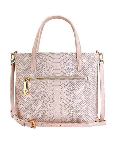 Gigi New York Billie Mock-Croc Crossbody Bag