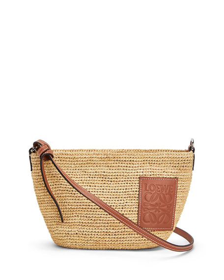 Loewe Raffia Medium Crossbody Bag