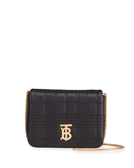 Burberry Lola Square Quilted Shoulder Bag