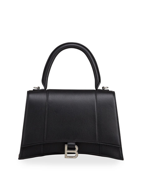 Balenciaga Hour Medium Top-Handle Bag