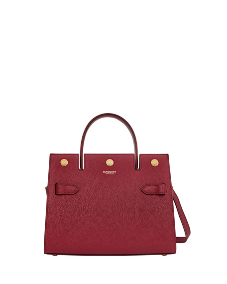 Burberry Baby Title Top-Handle Bag
