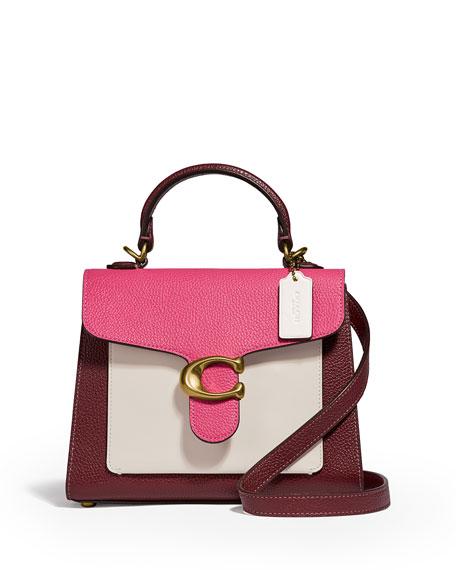 Coach 1941 Tabby Colorblock Top-Handle Bag