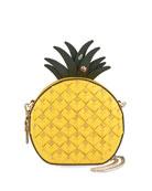 kate spade new york picnic pineapple zip crossbody