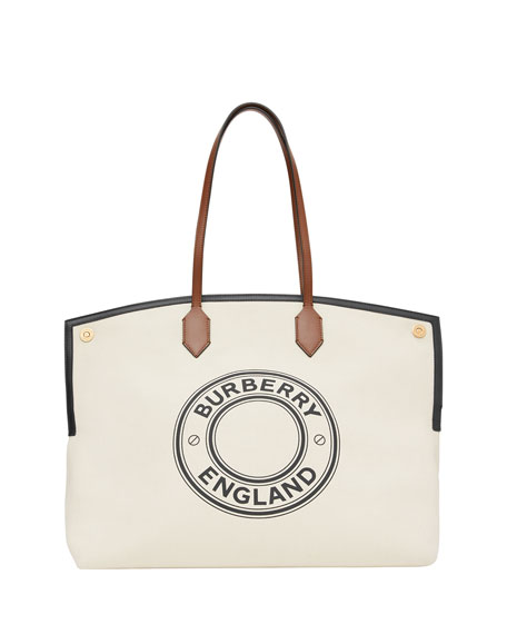 Burberry Large Top Handle Tote Bag