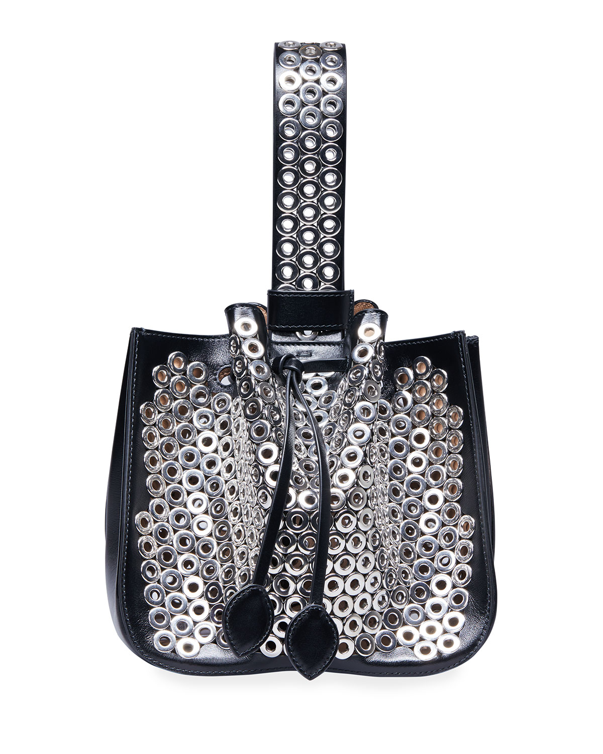 Rose Marie 19 Bucket Bag with Grommets