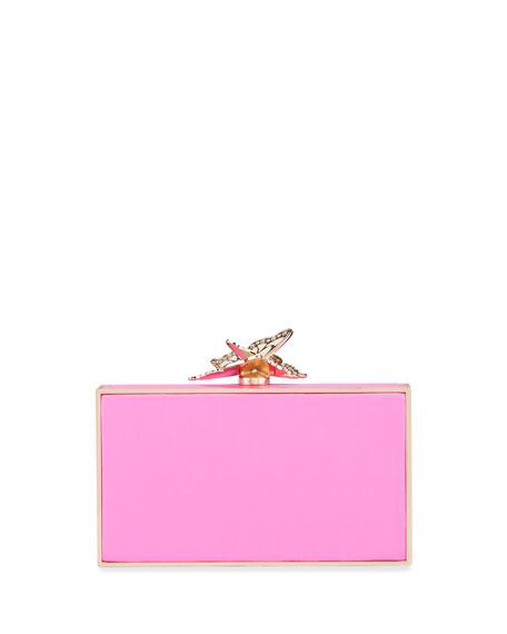 Sophia Webster Clara Butterfly Box Clutch Bag