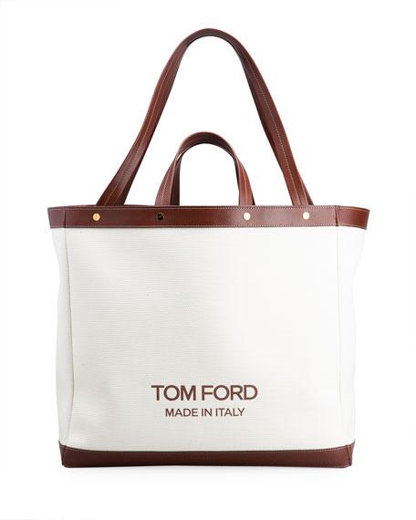 TOM FORD Medium Logo Shopping Tote Bag