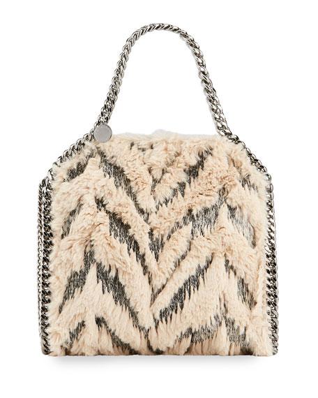 Stella McCartney Falabella Mini Furry Tote Bag
