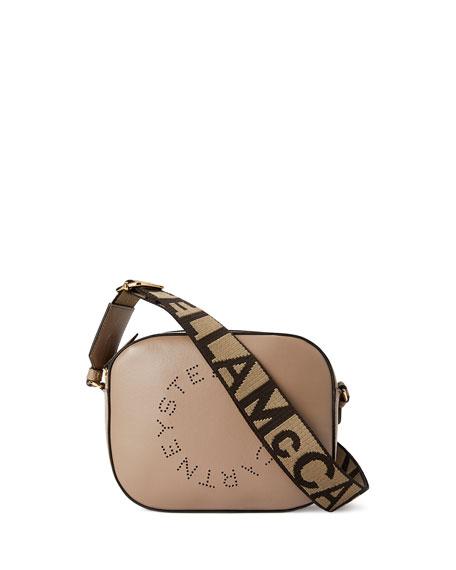 Stella McCartney Perforated Logo Alter Napa Camera Bag