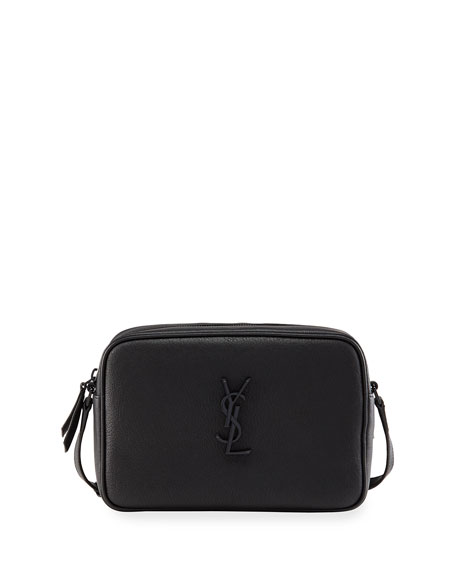 Saint Laurent Lou Medium YSL Monogram Smooth Leather Camera  Bag
