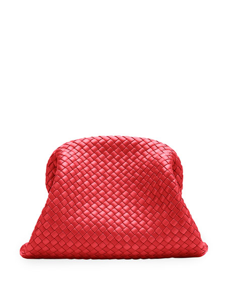 Bottega Veneta Padded Intrecciato Leather Clutch Bag