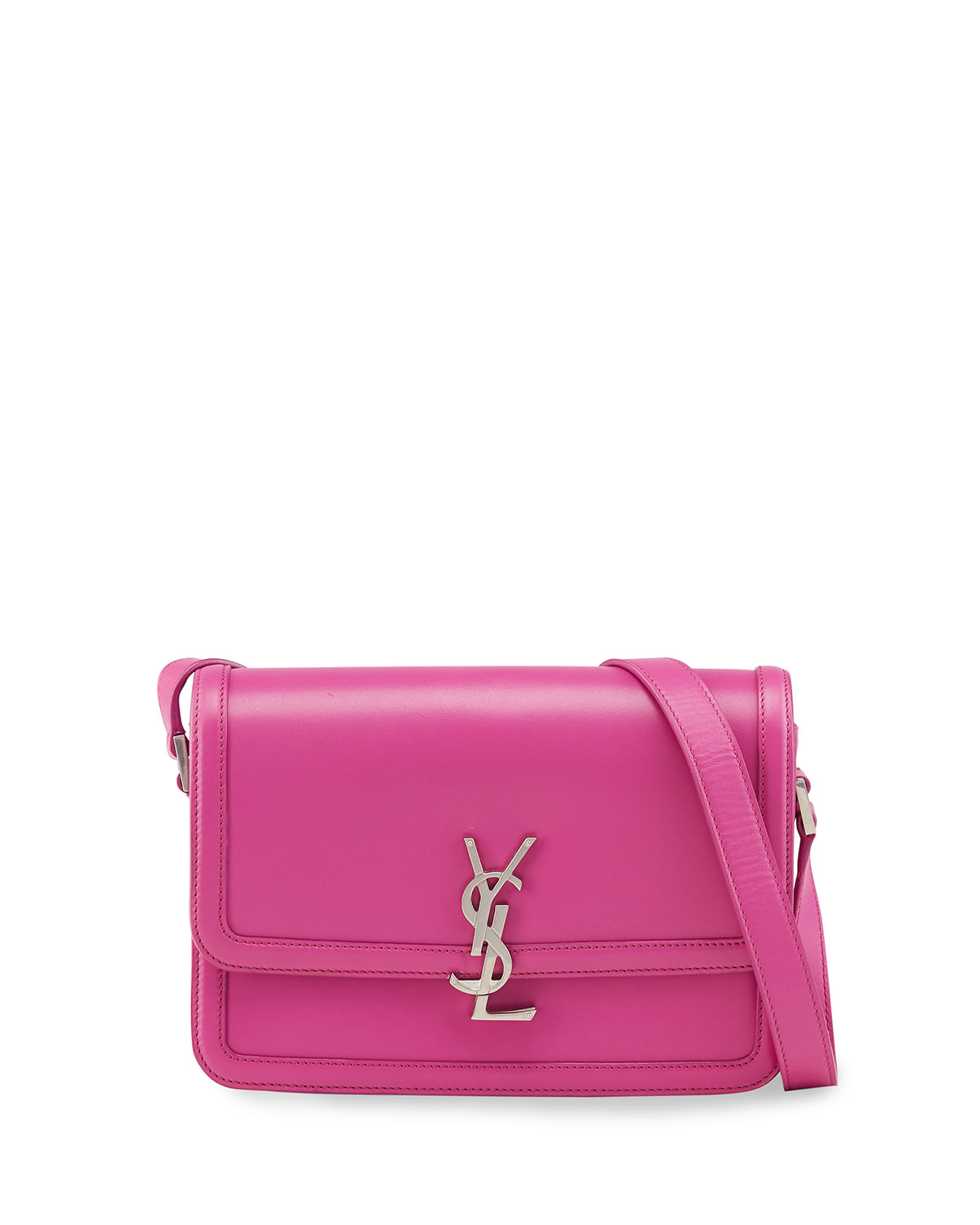 Solferino Medium YSL Leather Satchel Bag