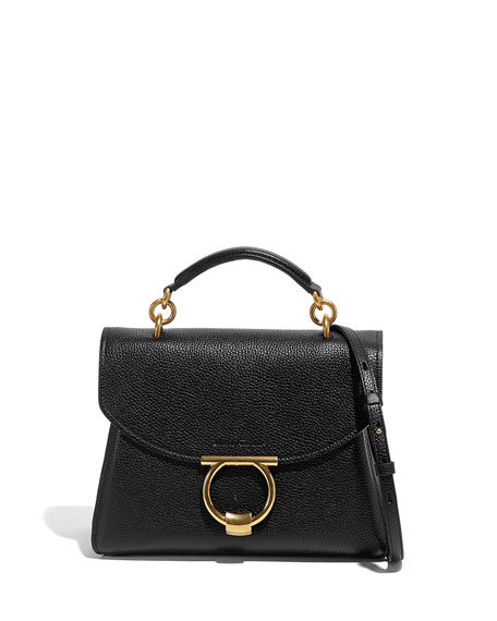 Salvatore Ferragamo Margot Small Top Handle Satchel Bag
