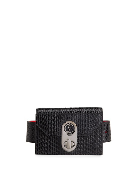 Christian Louboutin Elisa Leather Logo Wallet