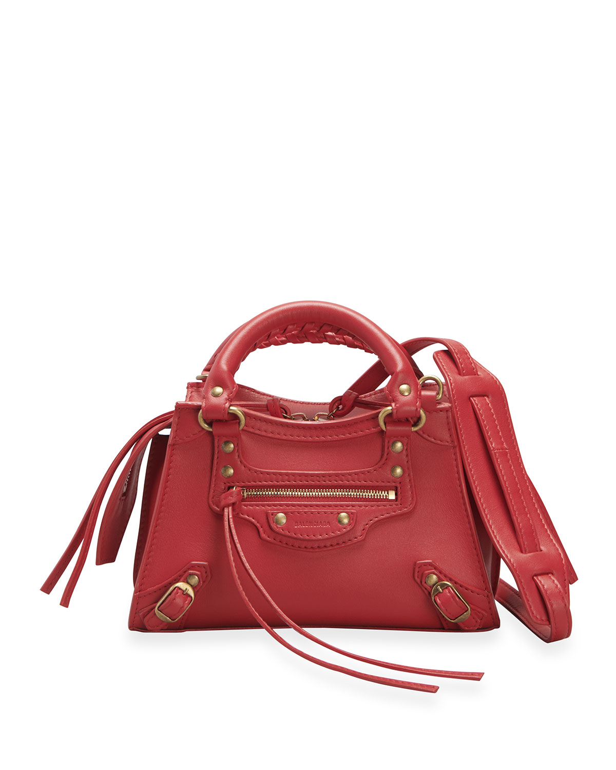 Balenciaga NEO CLASSIC CITY MINI CALFSKIN SATCHEL BAG