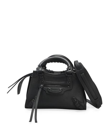 Balenciaga Neo Classic City Mini Smooth Calfskin Satchel Bag