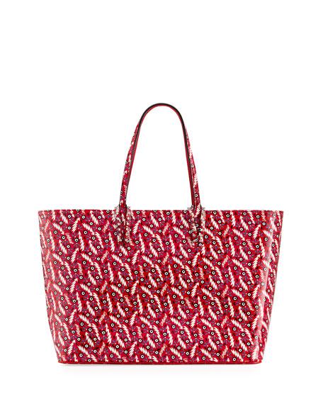 Christian Louboutin Cabata Patent Print Leather Tote Bag