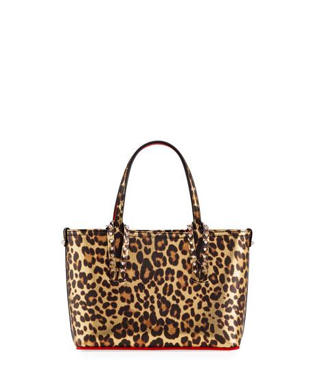 Christian Louboutin Cabata Mini Leopard-Print Tote Bag