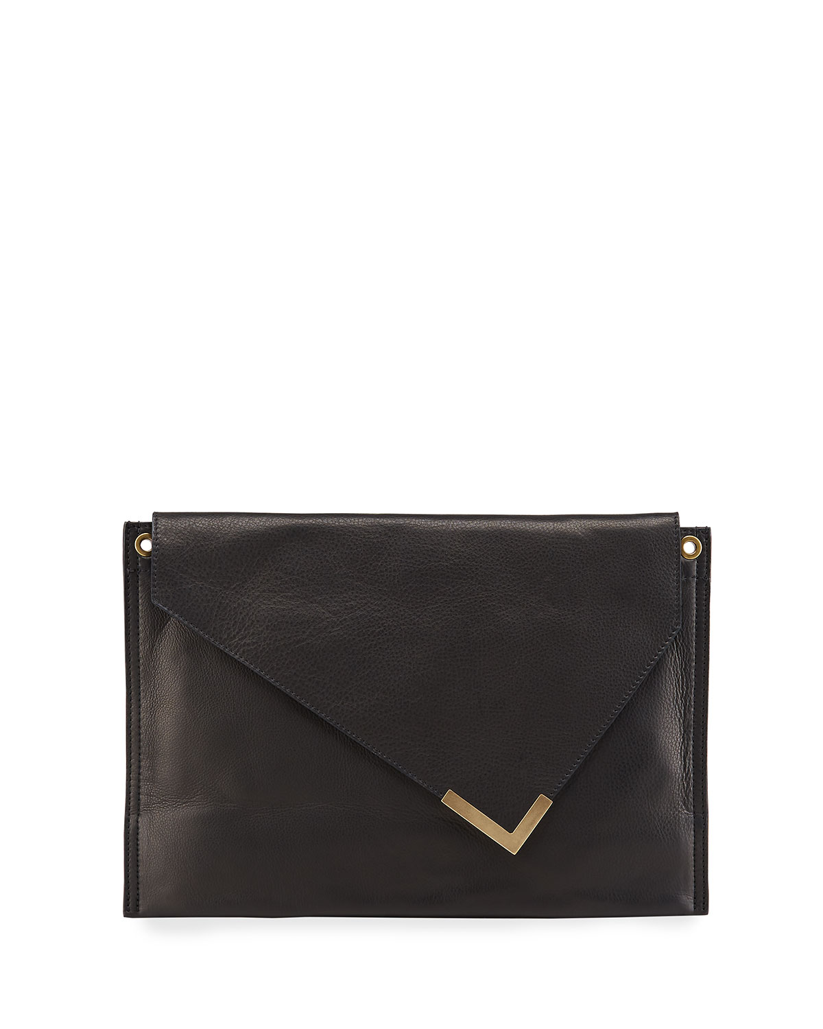 Isabel Marant TRYNE LEATHER CROSSBODY CLUTCH BAG