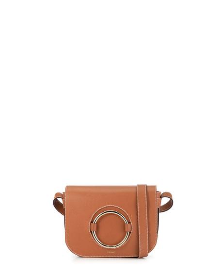 FRAME Le Ring Calf Leather Saddle Bag