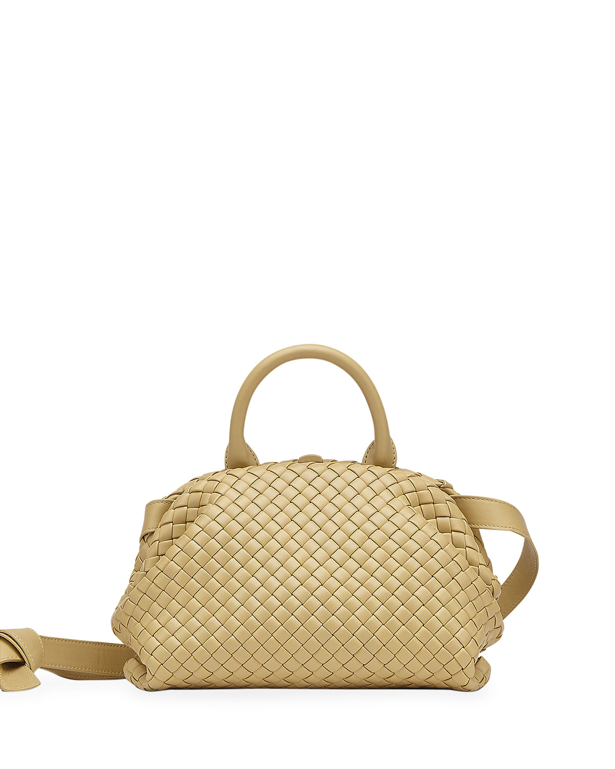 Bottega Veneta INTRECCIATO TOP HANDLE SATCHEL BAG