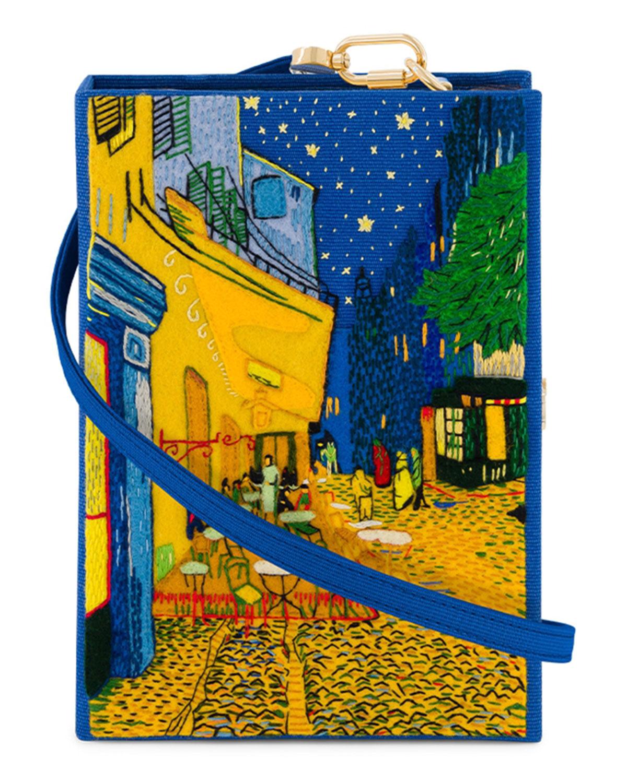 Olympia Le-Tan CAFE TERRASSE BOOK CLUTCH BAG