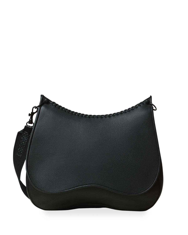Iconic Leather Saddle Bag