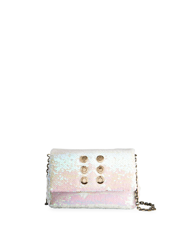 Iris Talaia Mini Sequined Crossbody Bag