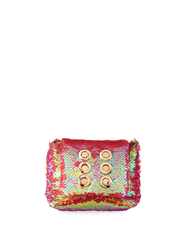 Iris Tiny Sequined Crossbody Bag