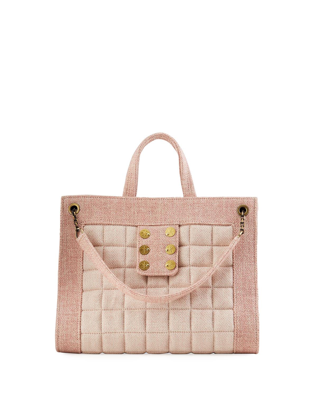 Shopper 1.2 Tweed Tote Bag w/ Sliding Chain Strap