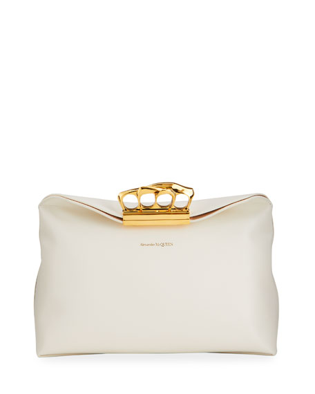 Alexander McQueen Sculptural Pouch Clutch Bag