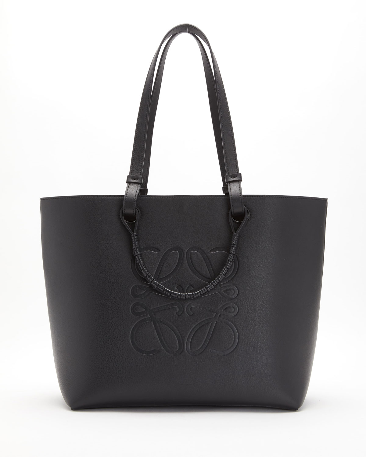 Anagram Classic Leather Tote Bag