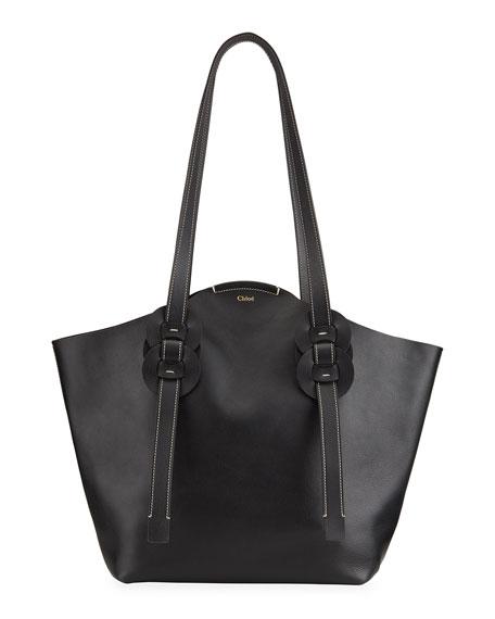 Chloe Darryl Medium Leather Tote Bag