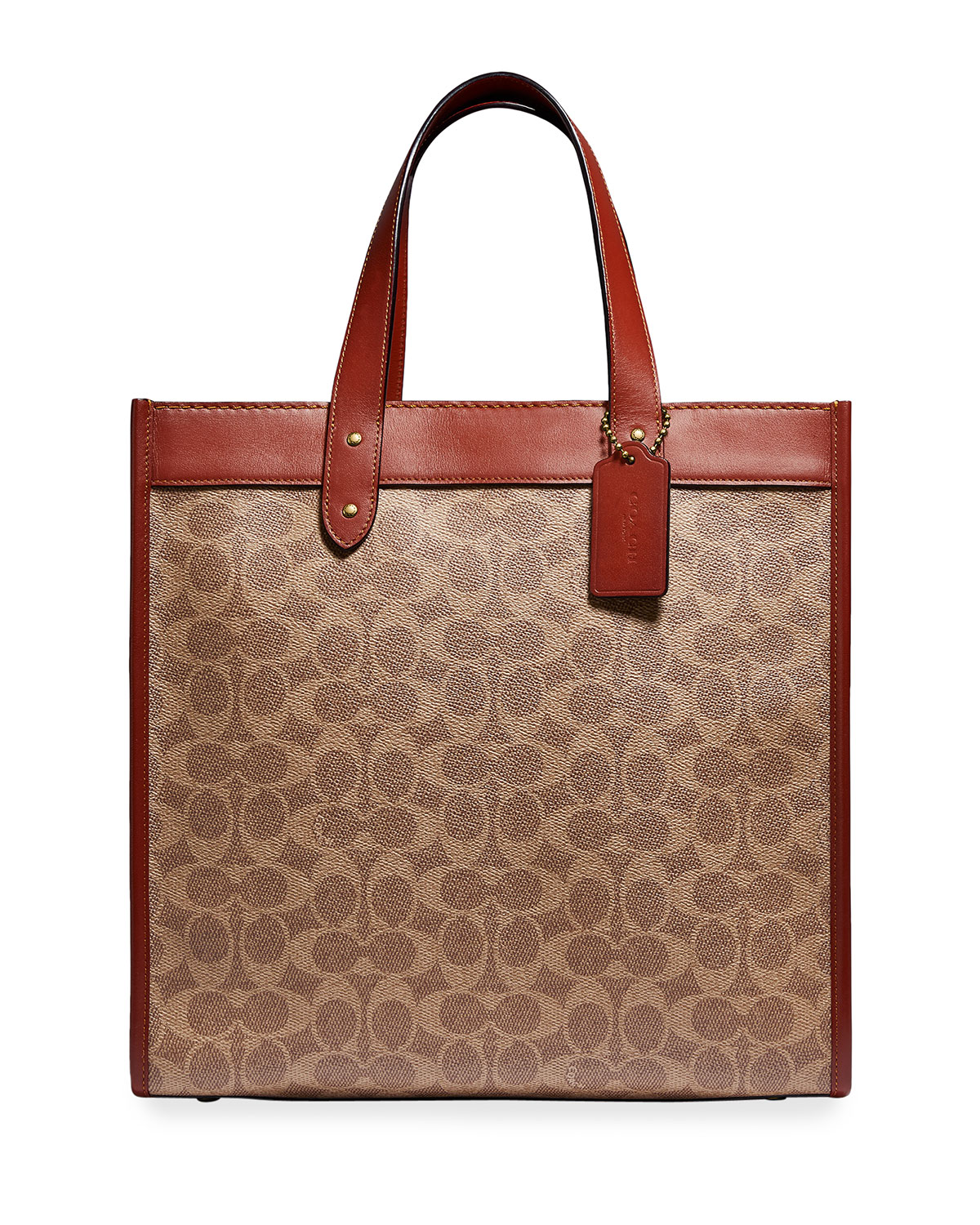 Horse & Carriage Logo Field Tote Bag