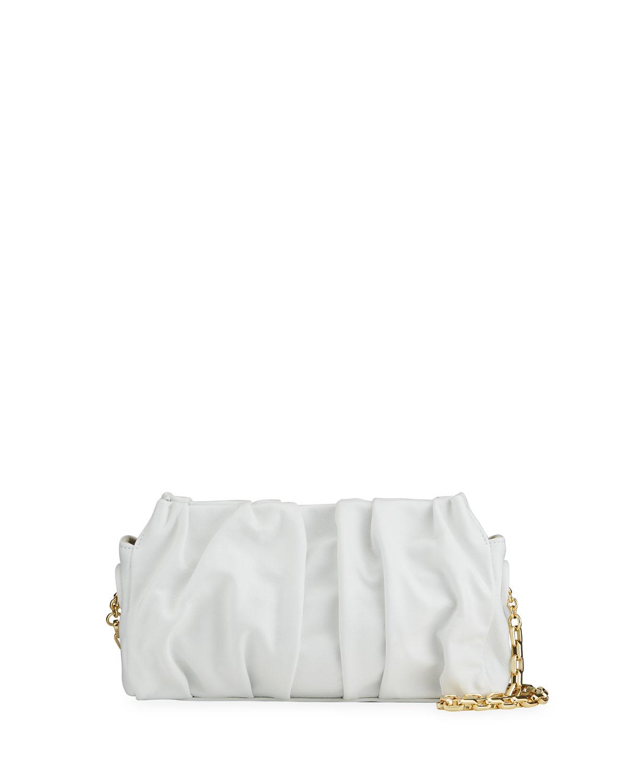 Vague Pleated Chain Shoulder Bag