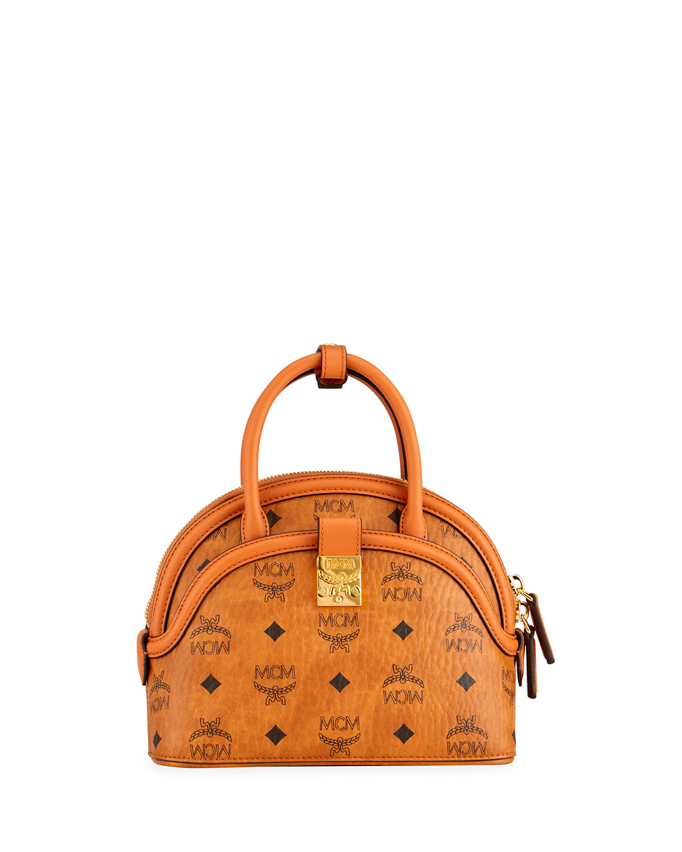 Anna Visetos Small Tote Bag with Crossbody Strap