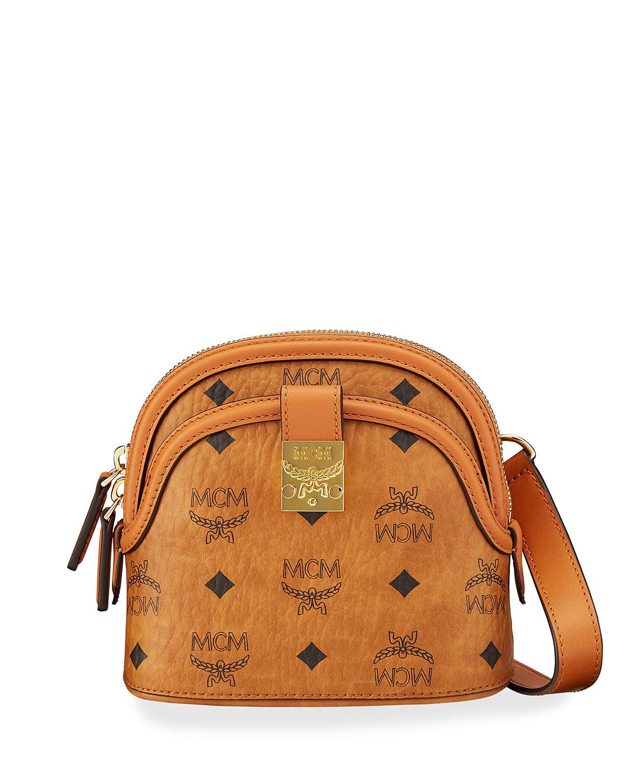 Anna Visetos Logo Crossbody Bag